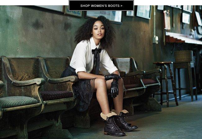 Shop women's boots >