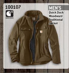 Men's Quick Duck Woodward Traditional Jacket