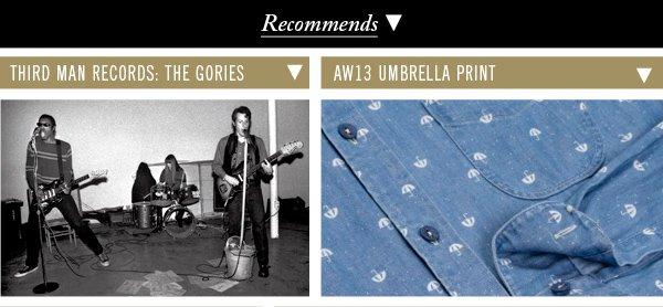 Third Man Records: The Gories | AW13 Umbrella Print