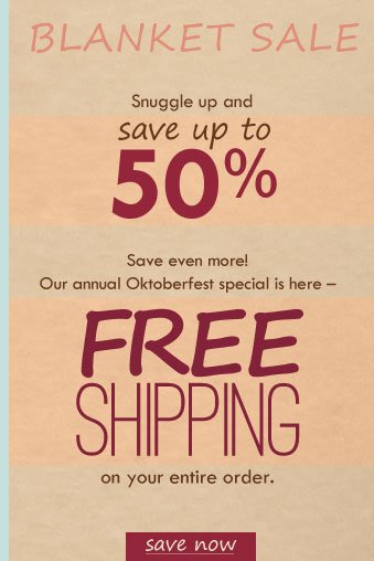Plus, our annual Oktoberfest special is here - FREE SHIPPING on your entire order! Click to shop now.