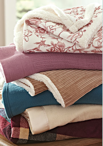 Blanket Sale! Snuggle up and save up to 50%