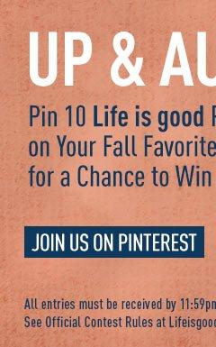 Join Us on Pinterest