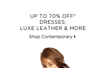 Up To 70% Off* Dresses: Luxe Leather & More