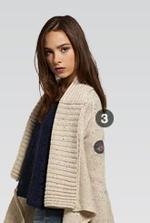superwolf cardigan