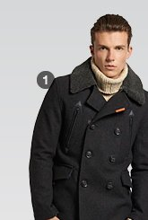 merchant pea coat