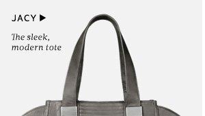 Jacy - The sleek, modern tote