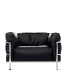 LC3 GRAND MODELE CHAIR (1928) Designed by Le Corbusier Group, produced by Cassina