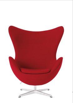 EGGTM CHAIR (1958) Designed by Arne Jacobsen for Fritz Hansen