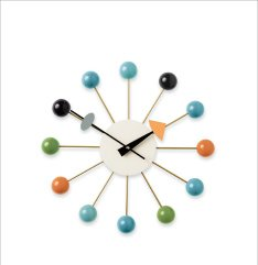 NELSON BALL CLOCK (1948) Designed by George Nelson and Associates, produced by Vitra