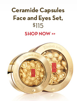 Ceramide Capsules Face and Eyes Set, $115. SHOP NOW.