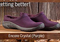 Womens Encore Crystal Purple