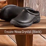 Womens Encore Nova Crystal Black