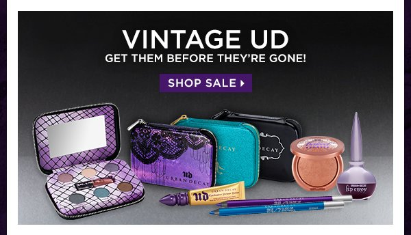 Vintage UD - Get Them Before They're Gone! Shop Sale >
