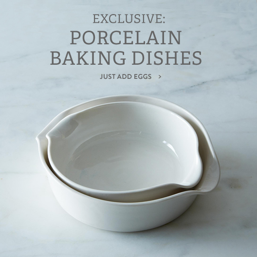 Porcelain Baking Dishes