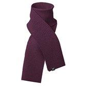 Pleece scarf, eggplant, 35x200 cm