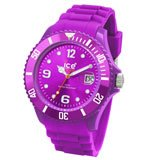 Ice-Watch SIPEBS09 Men's Sili Forever Purple Sunray Dial Plastic Watch