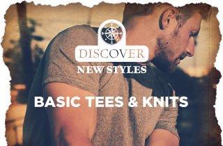 All New: Basic Tees & Knits