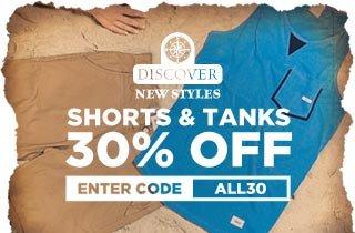 All New: Shorts & Tanks