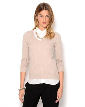 Ambiance Knit Long Sleeve Sweater
