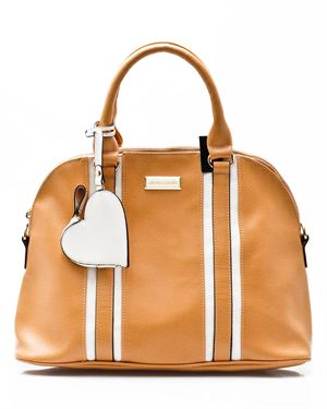Pierre Cardin Heart Satchel