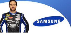 Jimmie Johnson and Samsung