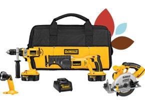 DEWALT 4-Tool Cordless Combo Kit