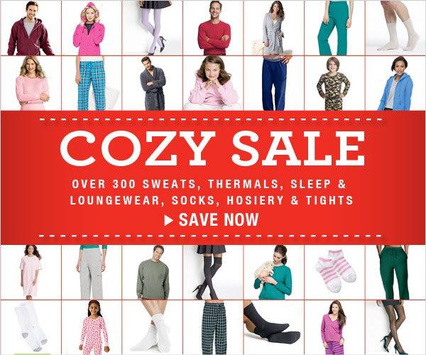 Cozy Sale: Over 300 styles