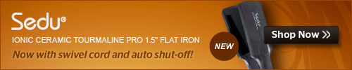 Sedu Ceramic 1.5 inch Flat Iron