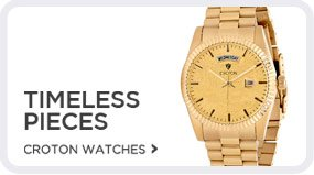 Croton Watches - Shop Now!