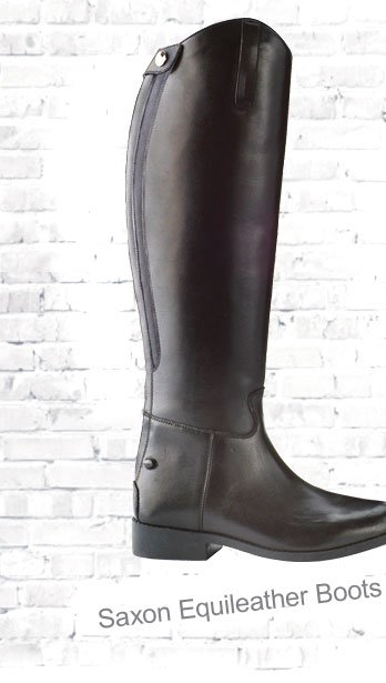 Saxon Equileather Plain Tall Boot £59 (Earn 295 Rider Reward points)