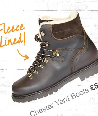 Chester Yard Boot | Fleece Lined £42 (Earn 260 Rider Reward points)