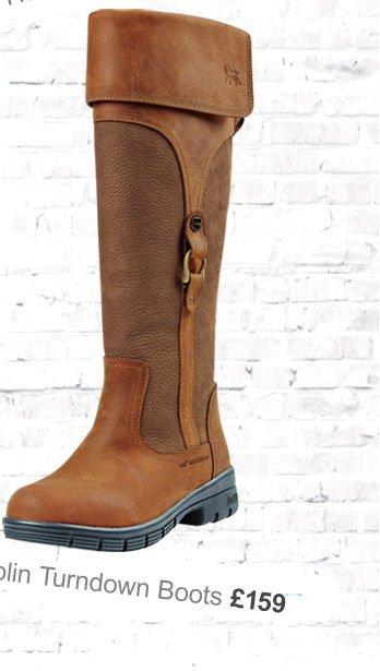 Dublin Turndown Boots £159 (Earn 795 Rider Reward points)