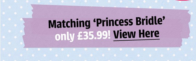 Check out the matching 'Star Princess Bridle' ONLY £35.99!