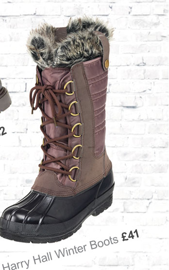 Harry Hall Nordic Winter Boot £41 (Earn 205 Rider Reward points)