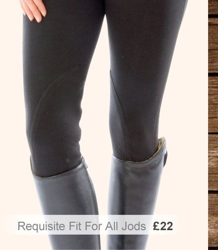 Requisite Fit for All Jodhpurs £22 (Earn 110 Rider Reward points)