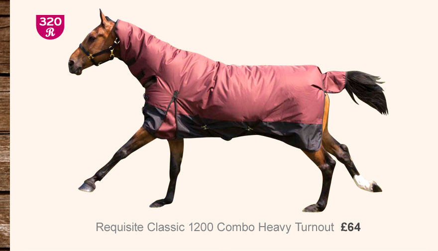 Requisite Classic 1200 Combo Heavy Turnout £64 (Earn 320 Rider Reward points)