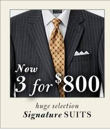 Signature Suits - 3 for $800 USD