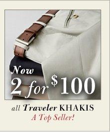 Traveler Khakis - 2 for $100 USD