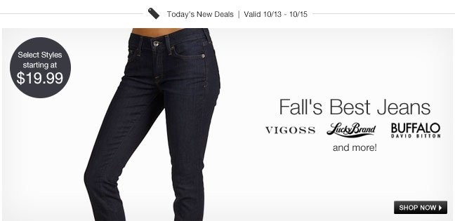Fall's Best Jeans
