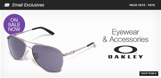 Oakley Eyewear and Accessories