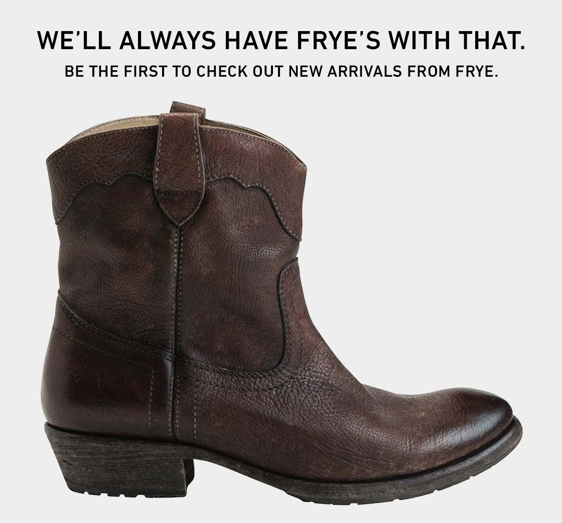 Shop New from FRYE