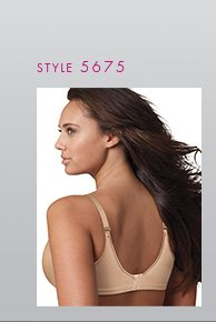 Slip into this bra for a smooth start to the day and the smoothest look under clothes. Available at JCPenney.