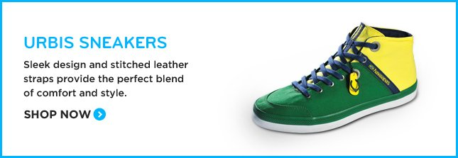Urbis Sneakers - Sleek design and stitched leather straps provide the perfect blend of comfort and style. Shop Now