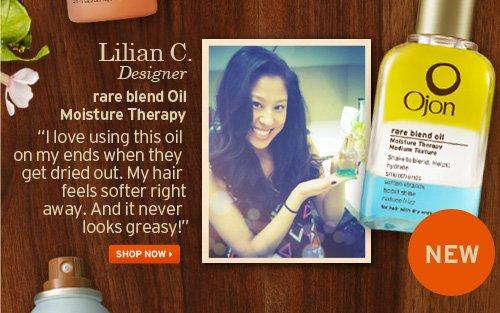 Lillian C Designer rare blend Oil Moisture Therapy