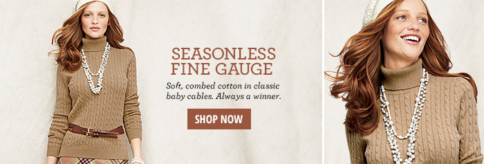 Seasonless Fine Gauge