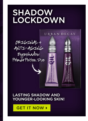 Shadow Lockdown - Original + Anti-Aging Eyeshadow Primer Potion. Lasting shadow and younger-looking skin! Get it now >