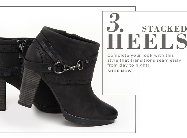 Shop Stacked Heels