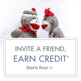 Invite a friend. Earn credit.