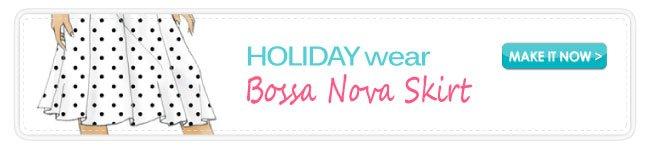 Free Pattern Download Bosa Nova Skirt