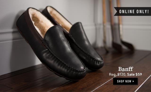 Online Only: Banff - Reg. $120, Sale $59. Shop now >
